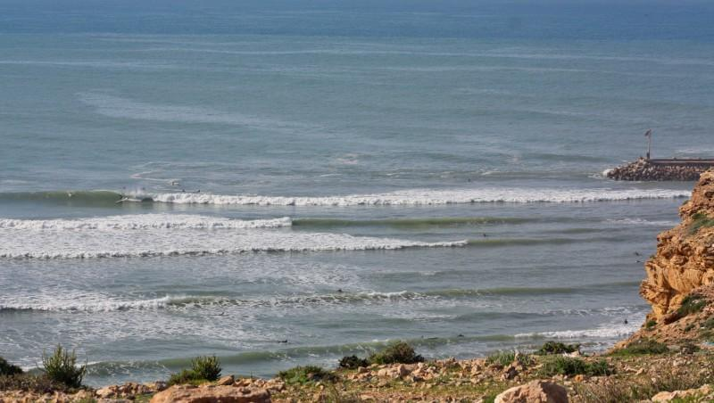 Surf report Baie d'Imessouane - Maroc (MA) 2010-02-11 10:00:00