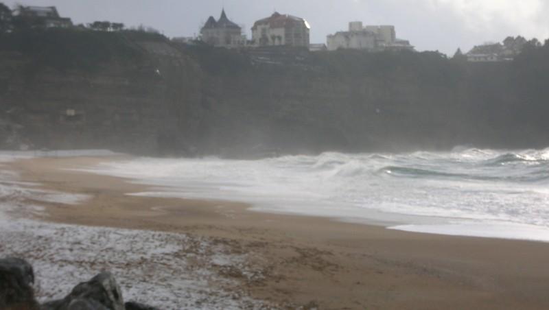 Surf report Anglet VVF - France (64) 2010-02-11 17:00:00