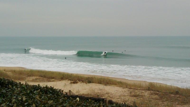 Surf report Lacanau Océan - La Nord - France (33) 2010-02-16 17:15:00