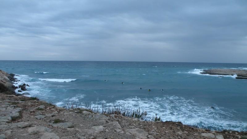 Surf report La Couronne - France (13) 2010-02-17 17:30:00