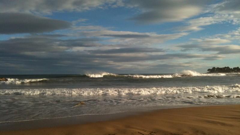 Surf report Saint-Aygulf - Zone Kite - France (83) 2010-02-19 17:01:00