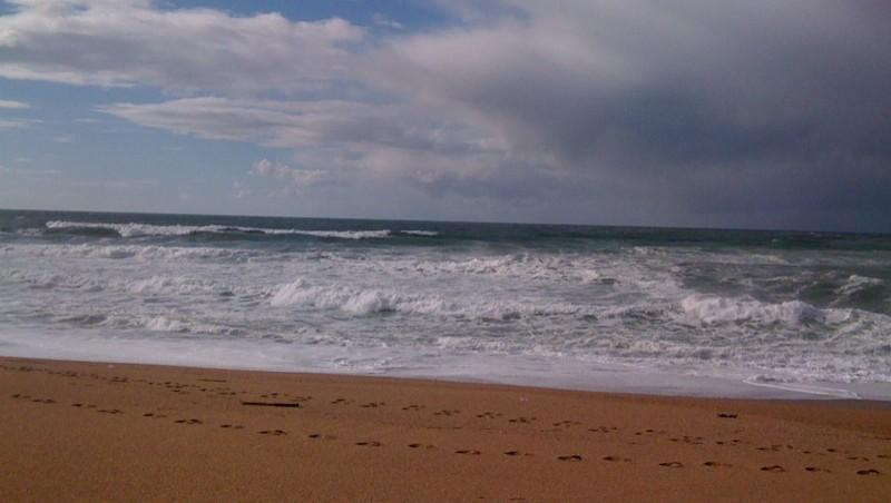 Surf report Anglet Les Cavaliers - France (64) 2010-02-20 15:00:00
