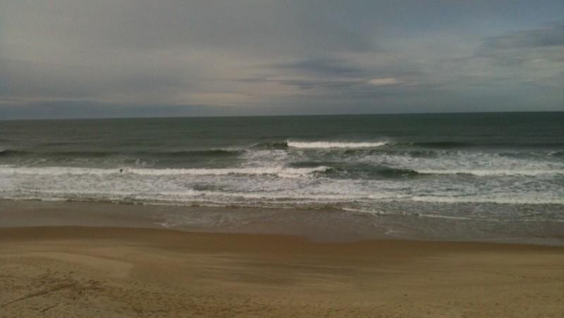 Surf report Hourtin Océan - La Centrale - France (33) 2010-02-21 11:05:00