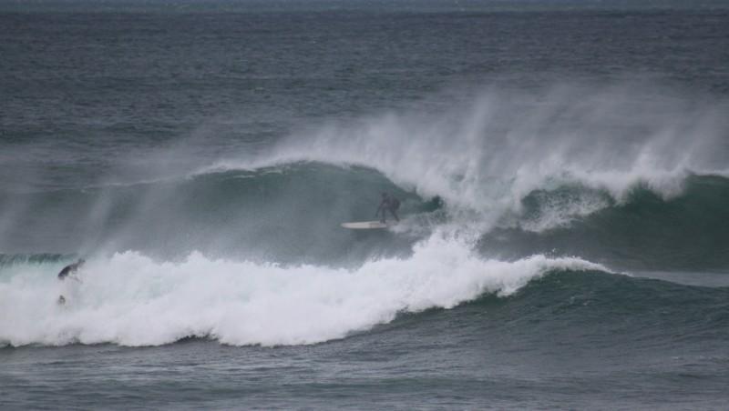 Surf report Lacanau Océan - La Nord - France (33) 2010-02-21 10:30:00