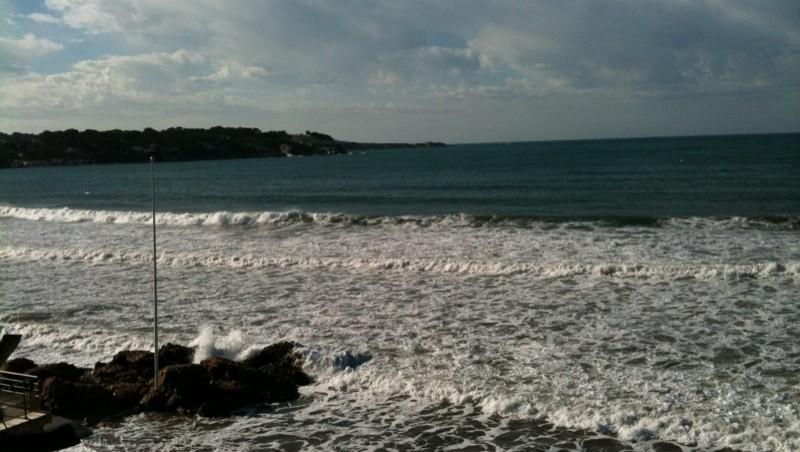 Surf report Plage du Lido - France (83) 2010-02-26 09:55:00