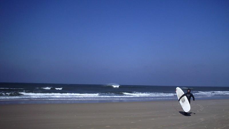 Surf report Carcans Océan - France (33) 2010-03-07 11:00:00
