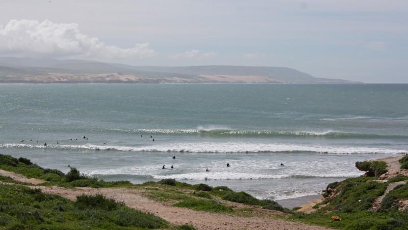 Surf report Baie d'Imessouane - Maroc (MA) 2010-03-09 11:30:00