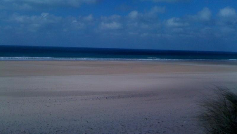 Surf report Biville - France (50) 2010-03-10 13:00:00