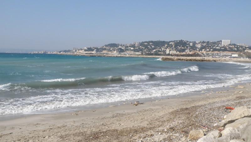 Surf report Escale Borély - France (13) 2010-03-14 15:00:00