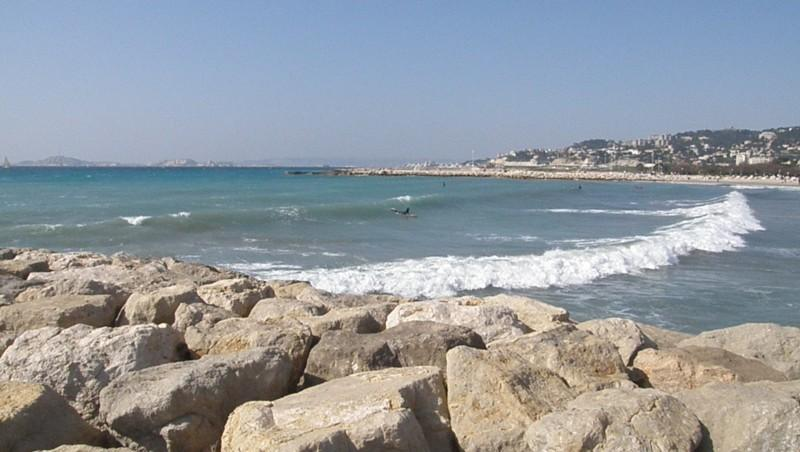 Surf report Le Prado - France (13) 2010-03-14 14:00:00
