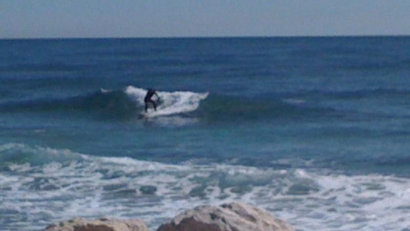 Surf report Sausset les Pins - Plage du Port - France (13) 2010-03-26 14:31:00