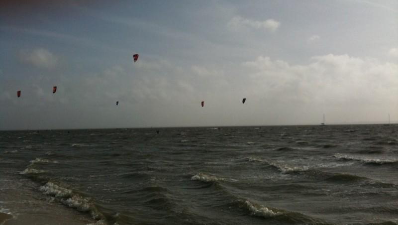 Surf report Andernos - Le Betey - France (33) 2010-03-27 16:31:00