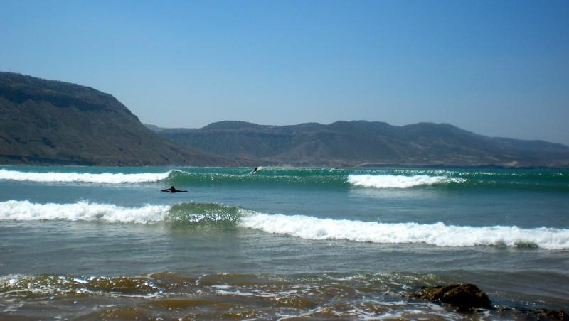 Surf report Baie d'Imessouane - Maroc (MA) 2010-05-07 11:30:00