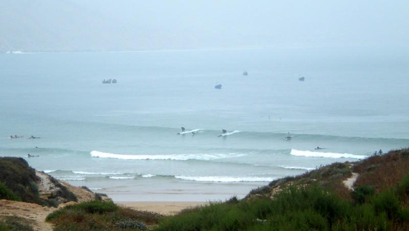 Surf report Baie d'Imessouane - Maroc (MA) 2010-05-19 12:30:00