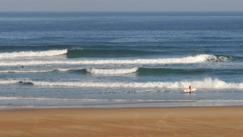 Surf report Seignosse - Les Bourdaines - France (40) 2010-05-23 08:00:00