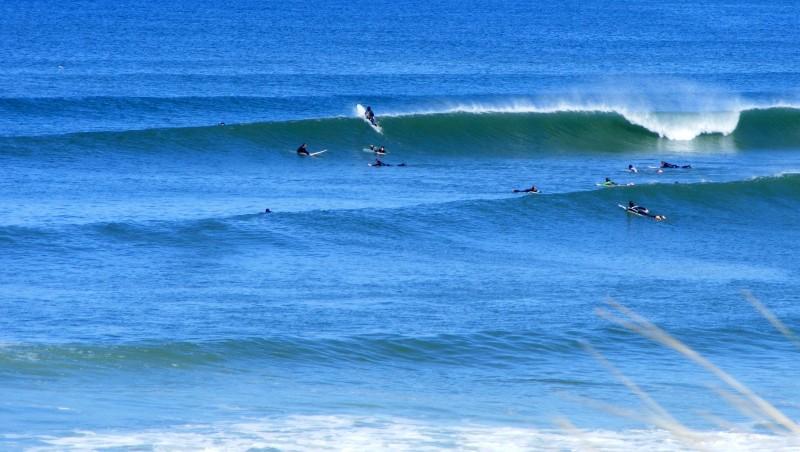 Surf report Lacanau Océan - La Nord - France (33) 2010-05-23 10:40:00