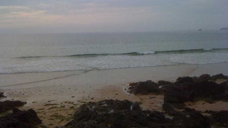 Surf report Saint-Malo - Plage Rochebonne - France (35) 2010-05-26 20:00:00