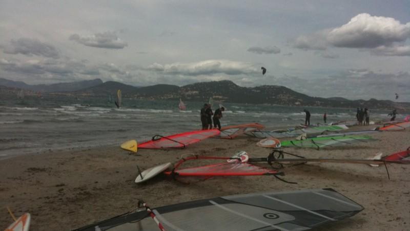 Surf report La Madrague - France (83) 2010-05-30 14:00:00
