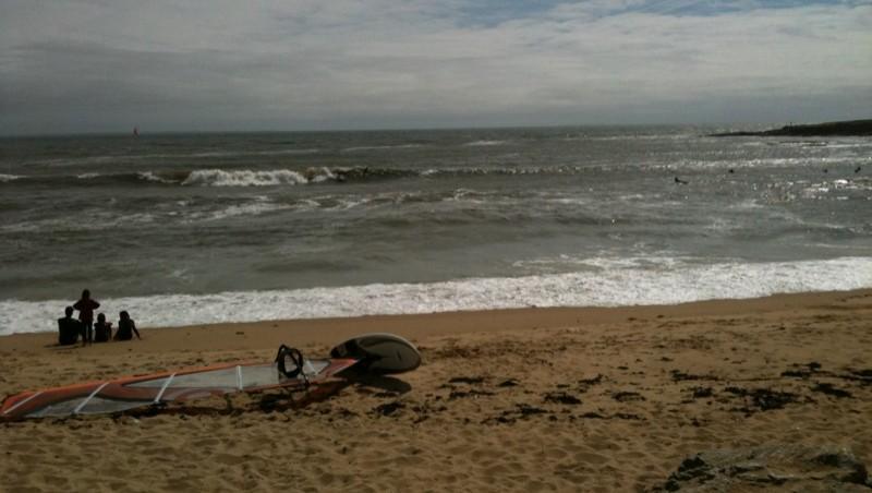 Surf report L'Anse du Sud - France (44) 2010-05-30 16:43:00