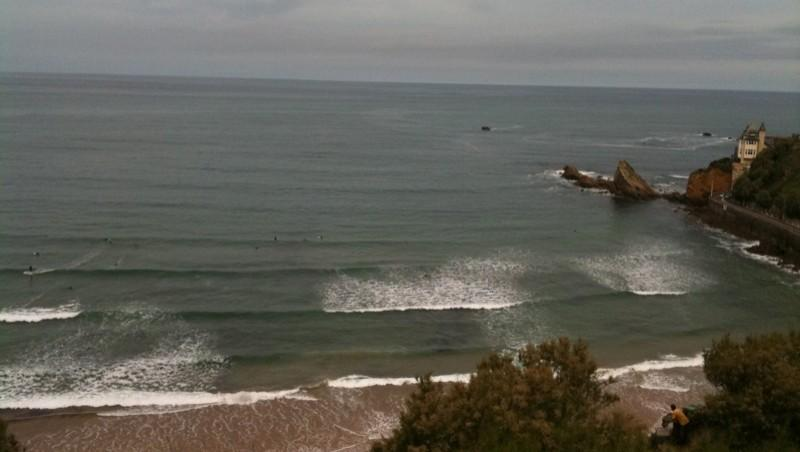 Surf report Côte des Basques - France (64) 2010-06-01 11:00:00