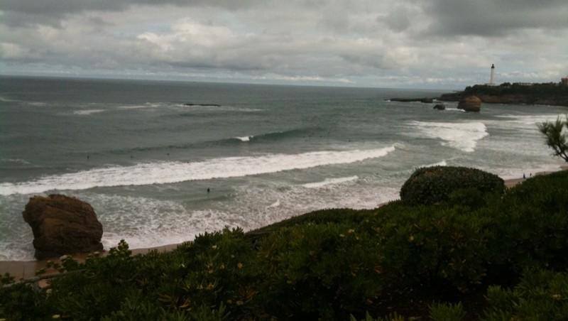 Surf report Biarritz - Grande Plage - France (64) 2010-06-02 11:00:00