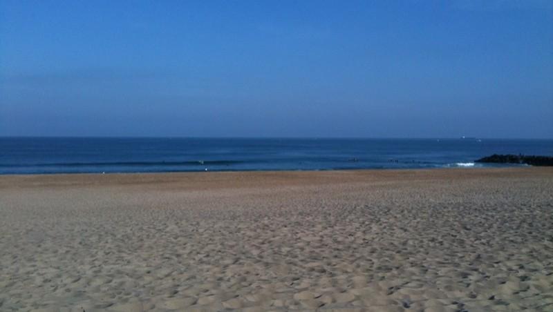 Surf report Anglet Sables d'Or - France (64) 2010-06-05 09:00:00