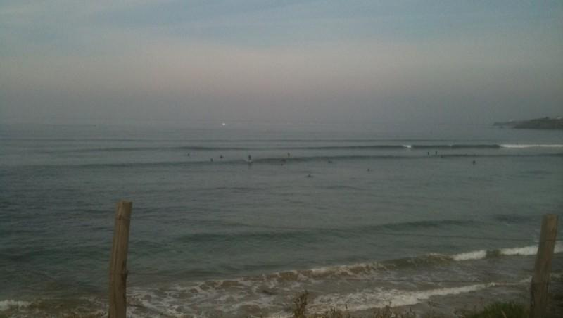 Surf report Guidel-Plage - France (56) 2010-06-05 10:00:00