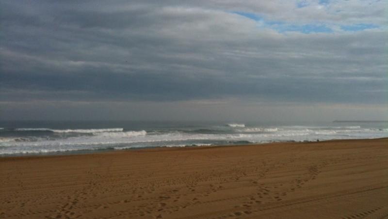 Surf report Anglet La Madrague - France (64) 2010-06-09 08:00:00