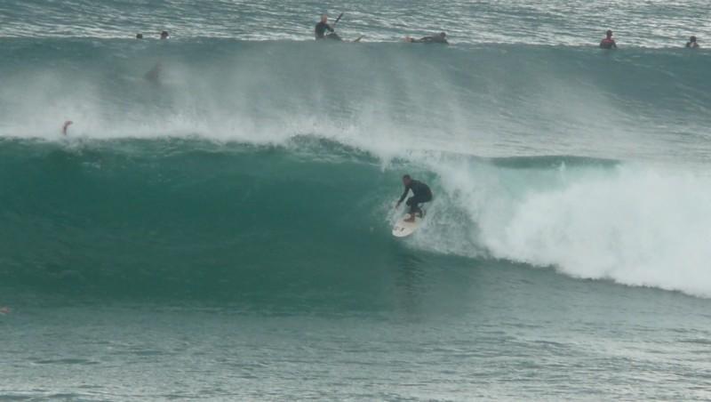 Surf report Lacanau Océan - La Sud - France (33) 2010-06-09 17:30:00