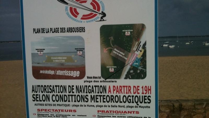 Surf report Arcachon - Les Arbousiers - France (33) 2010-06-14 10:00:00