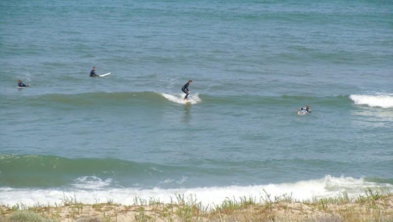 Surf report Lacanau Océan - La Nord - France (33) 2010-06-18 11:30:00