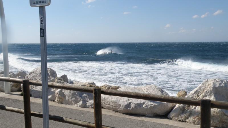 Surf report Sausset les Pins - Plage du Port - France (13) 2010-06-20 09:30:00