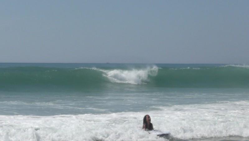 Surf report Carcans Océan - France (33) 2010-06-24 15:00:00