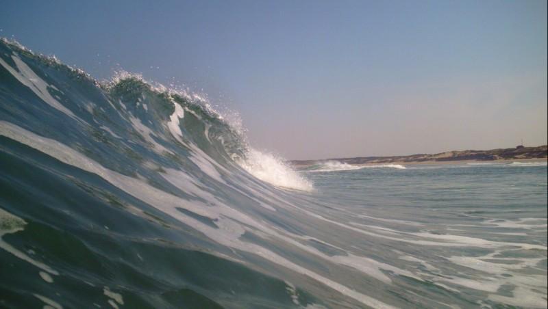 Surf report Montalivet - France (33) 2010-06-25 09:00:00