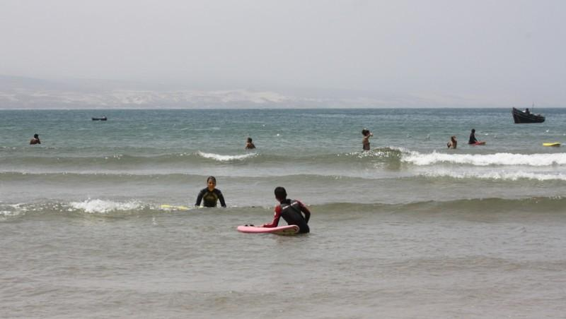 Surf report Baie d'Imessouane - Maroc (MA) 2010-07-02 12:00:00