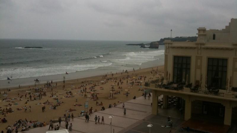 Surf report Biarritz - Grande Plage - France (64) 2010-07-02 17:00:00