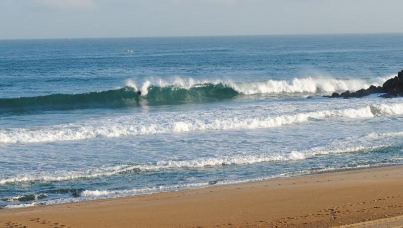Surf report Anglet Surf Club - France (64) 2010-07-07 08:00:00