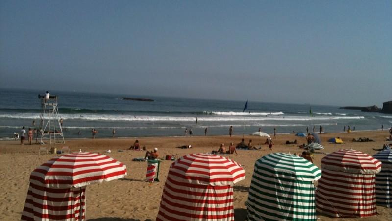Surf report Biarritz - Grande Plage - France (64) 2010-07-08 10:00:00