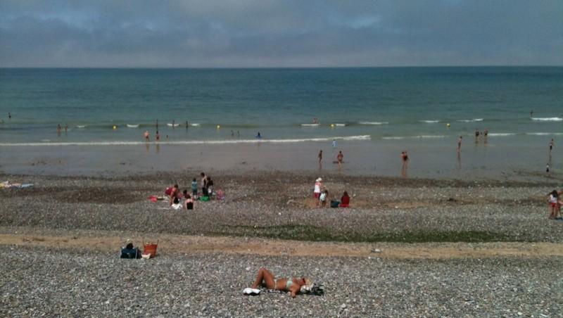 Surf report Pourville - France (76) 2010-07-08 14:00:00