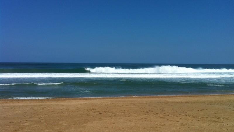 Surf report Anglet Marinella - France (64) 2010-07-10 11:00:00