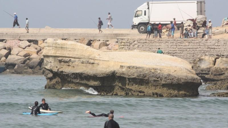 Surf report Baie d'Imessouane - Maroc (MA) 2010-07-11 11:00:00