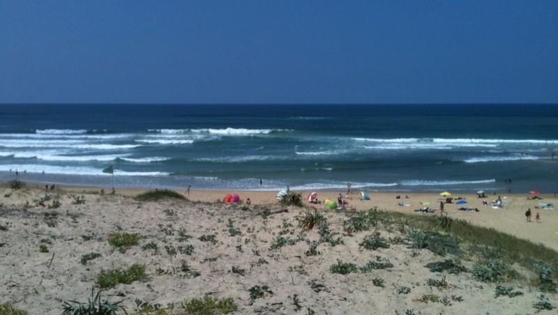 Surf report Vieux Boucau - France (40) 2010-07-13 15:00:00