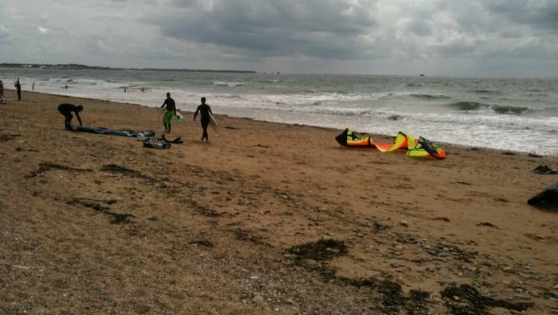 Surf report Penthièvre - France (56) 2010-07-13 16:00:00