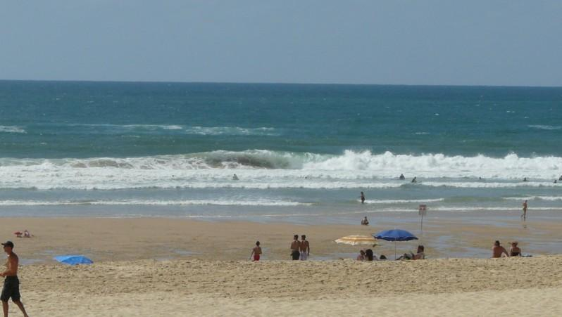 Surf report Mimizan - Plage Garluche - France (40) 2010-07-17 16:30:00