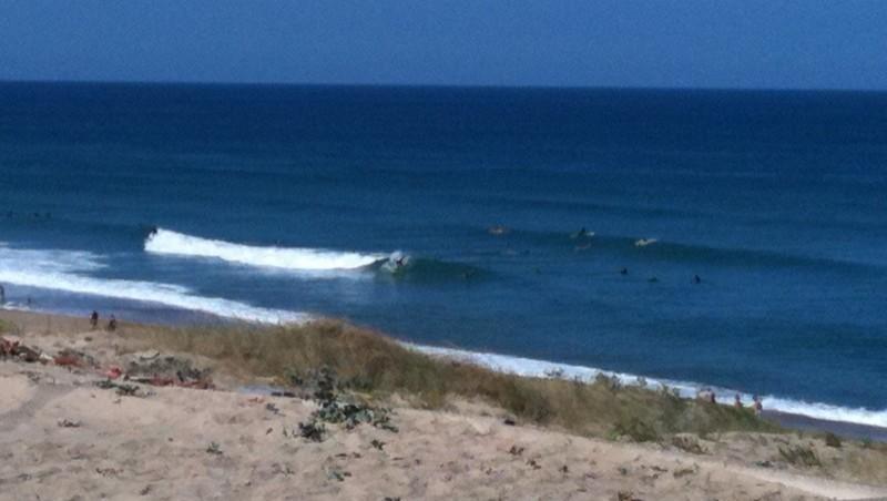 Surf report Vieux Boucau - France (40) 2010-07-18 11:13:00