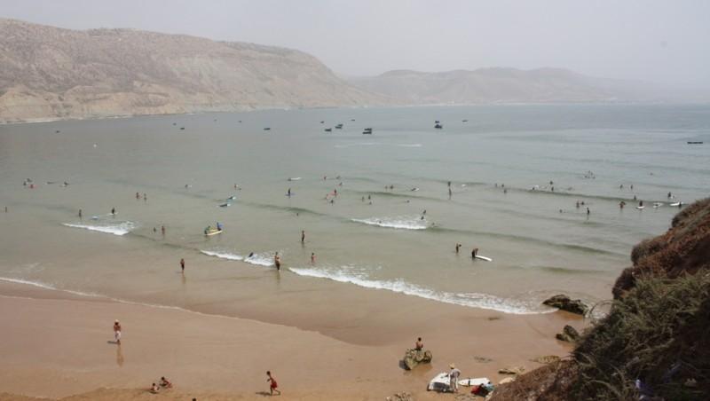 Surf report Baie d'Imessouane - Maroc (MA) 2010-07-18 15:00:00