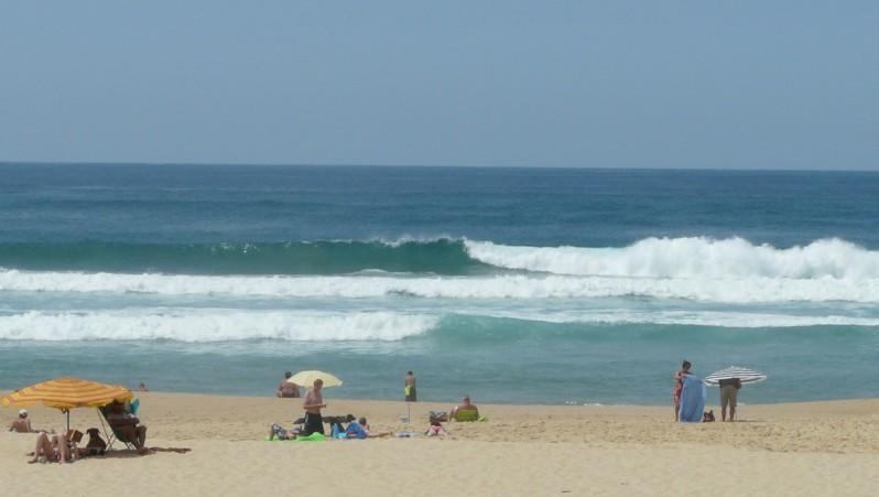 Surf report Mimizan - Plage Garluche - France (40) 2010-07-20 14:30:00