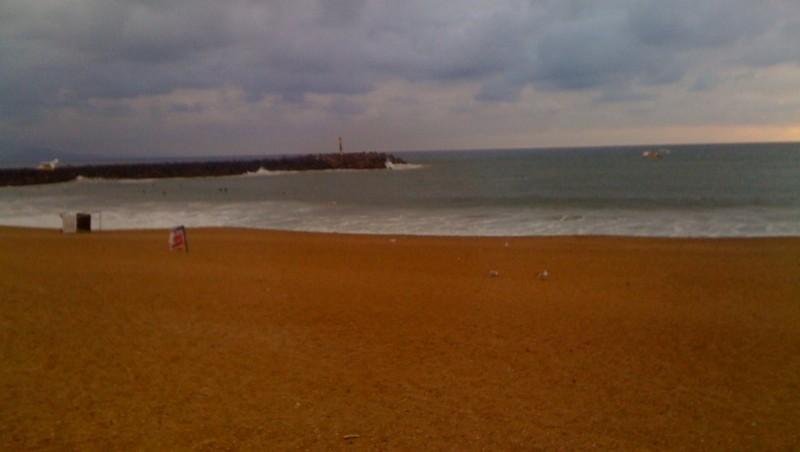 Surf report Anglet La Barre - France (64) 2010-07-20 20:52:00