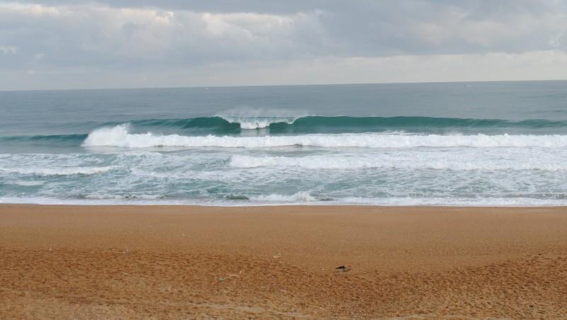 Surf report Anglet Sables d'Or - France (64) 2010-07-24 08:00:00
