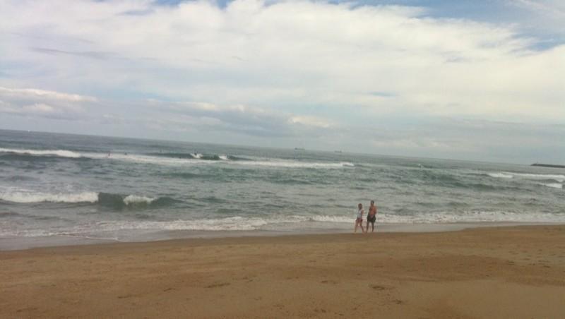 Surf report Anglet La Madrague - France (64) 2010-07-24 11:41:00